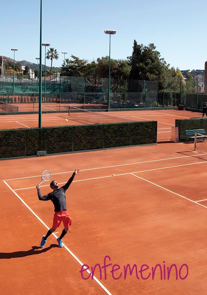 ENFEMENINO tenis