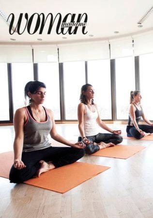WOMAN meditacion
