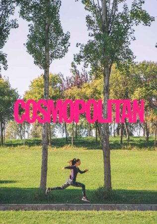 COSMOPOLITAN running